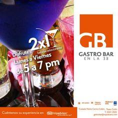 TRYP San José Sabana (Gastro Bar). - Lunes a Viernes 5pm a 7pm, 2x1 en bebidas seleccionadas. 25-sep-2015