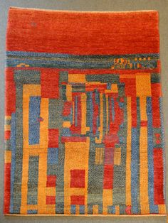 Gabbeh - traditional Persian tribal rug  - Shiraz style