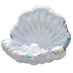 Mermaid Party Giant Clam Shell Lounging Float & Pearl Fun Pool Accessories Props Ships from USA Inflatables Seating Kids Children's Adults Adult Sommer Pool Party, Cute Pool Floats, Large Pool Floats, Giant Pool Floats, Giant Clam Shell, Pool Accessories, Summer Pool, Summer Diy, Pool Toys