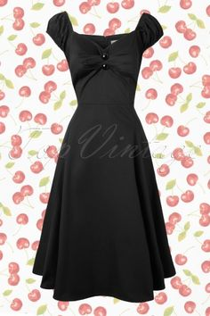 Collectif Clothing  Dolores Doll Dress Red 102 20 12756 20140226 0014W