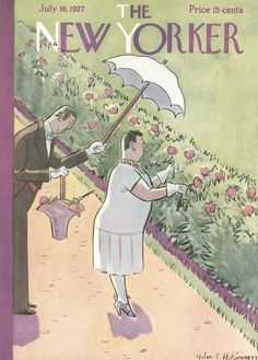 The New Yorker - Saturday, July 16, 1927 - Issue # 126 - Vol. 3 - N° 22 - Cover by : Helen E. Hokinson