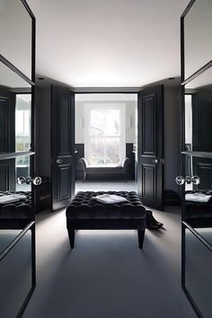 The ultimate masculine dressing room