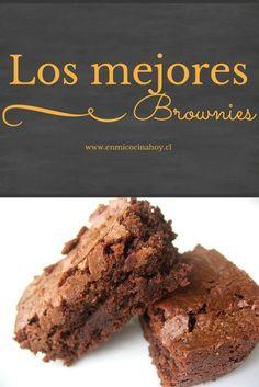 Tienes que probarlos. Brownie Cookies, Chocolate Chip Cookies, Blondie Brownies, Chocolate Brownies, Chocolate Desserts, Oatmeal Cookie Recipes, Brownie Recipes, Cupcakes, Cupcake Cakes