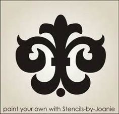 damask stencil printable free - Bing Images
