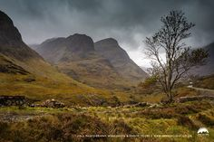 The Three Sisters of Glencoe in October 2017