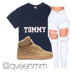 """Untitled #343"" by qveenmm on Polyvore featuring NIKE"