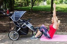 Roll With It: A Full Body Workout With A Jogging Stroller