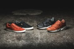 """The Puma """"Citi Series"""" with two colorways on the Blaze of Glory (110€) and two colorways on the Court Star Vulc (75€) is available at our shop now! EU 41 - 47"""