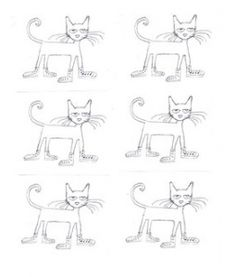 Printable Pete the Cat!