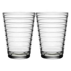 Iittala Aino Aalto Glas - 33 cl - Helder - 2 stuks