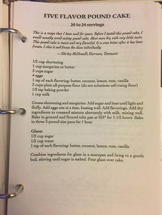 Apple Bundt Cake Recipes