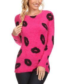 Look at this #zulilyfind! Pink Kiss Tunic #zulilyfinds