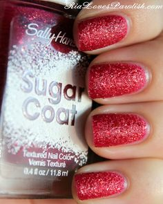 Sally Hansen Sugar Coat... Pink Sprinkle