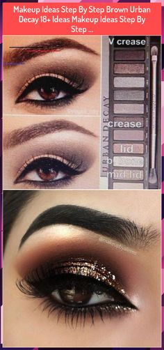 Makeup Ideas Step By Step Brown Urban Decay Ideas Makeup Ideas Step By Step . Gold Eye Makeup, Gold Eyes, Urban Decay, Makeup Ideas, Halloween Face Makeup, Make Up, Lipstick, Brown, Beauty