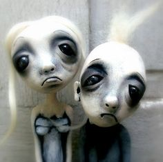 Cake Toppers Goth Zombie Love by Loopy