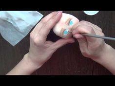 Расписываем личико текстильной куклы - Ярмарка Мастеров - ручная работа, handmade