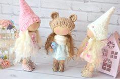 Textile doll Handmade doll Fabric doll Tilda doll от RosedollsArt