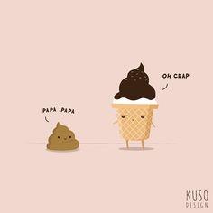 Poo poo by kusodesign.deviantart.com on @deviantART