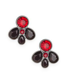Ruby Rain Earrings - JewelMint