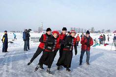 Nationaal erfgoed schoonrijden op de schaats