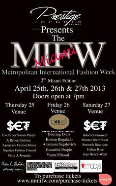 #MMIFW www.mmifw.com International Fashion, Collection