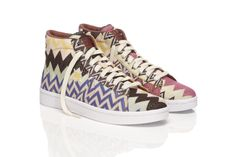 A limited edition series will be created by Missoni and Converse for French store colette. Description from 360mediauk.com. I searched for this on bing.com/images