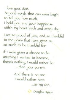 Trendy birthday quotes for son from mom poems heart Ideas Mother Son Quotes, Mom Quotes From Daughter, Poem For My Son, My Children Quotes, Quotes For Kids, Child Quotes, Poems About Mothers Love, Poems About Moms, Son Birthday Quotes