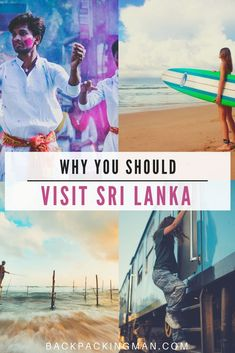 The Best of Backpacking in Sri Lanka - Backpackingman Best Countries To Visit, Cool Countries, Sri Lanka Itinerary, Worldwide Travel, Oh The Places You'll Go, Asia Travel, Backpacking, Adventure Travel, Travel Inspiration