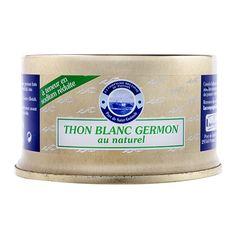 Thon blanc Germon au naturel - teneur réduite en sel - La Compagnie Bretonne du Poisson - Etre Gourmand