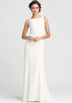 Ann Taylor Olivia Open Back gown