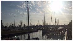 Der Hafen von Hoorn, Noord-Holland