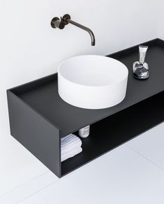 The basic principles of the Scene cabinet collection are identity, intimacy, scalability and tactility. Bathroom Furniture, Bathroom Interior, Modern Bathroom, Small Bathroom, Future House, Casa Milano, Interior Design Help, Interior Decorating, Public Bathrooms