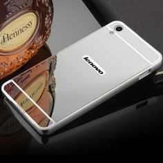 For Lenovo S850 Case Luxury Plating Mirror Aluminum Metal Bumper Case for Lenovo S850 S 850 Hard PC Back Cover Phone Cases