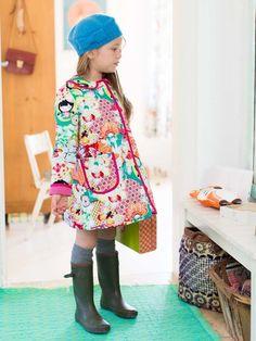 burda style, Schnittmuster, Kinder - Mantel