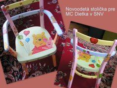 Stolček Decoupage, Chair, Handmade, Furniture, Home Decor, Hand Made, Decoration Home, Room Decor, Home Furnishings