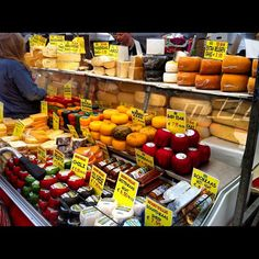 All kind of cheese from Holland.