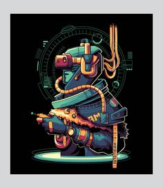 Virtual Reality on Behance Virtual Reality, Cyberpunk, Futuristic, Vector Art, Spiderman, Behance, Sci Fi, Darth Vader, Cartoon