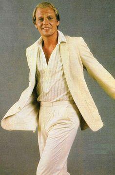 Before Sunny Crockett...Hutch rocked the look!