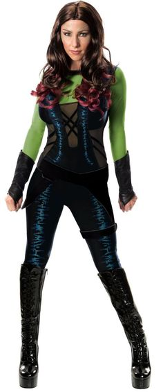 Adult Gamora Costume - Guardians of the Galaxy - Party City