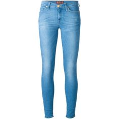 7 For All Mankind skinny jeans (161.435 CLP) ❤ liked on Polyvore