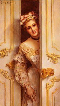 Comerre, Leon Francois; The Pretty Maid