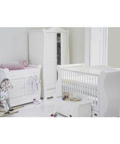 Tutti Bambini Marie Nursery Suite - White - nursery furniture sets - Mothercare