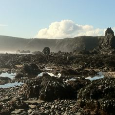 Deserted beach on Hook Head