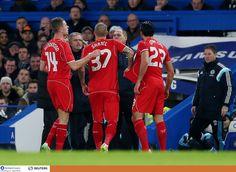 """Chelsea 1 Liverpool 0: Reds """"srdce zlomené ako absorbujúci semifinále vidí Wembley sen skončil starú nepriateľ - Emre Can, Martin Skrtel a Jordan Henderson stret s Chelsea - Liverpool Echo"""