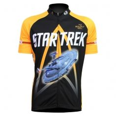Top Mens Yellow Startrek Cycling Jersey Cycling Clothing Bike Shirt Size TO Racing  Bike Clothing camisa ciclismo maillot eb48103b3