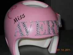 bedazzled helmet Plagiocephaly Support