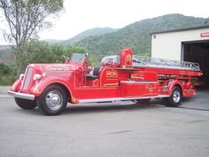 Seagrave Fire Truck.  .@Jorge Martinez Martinez Martinez Cavalcante (JORGENCA)