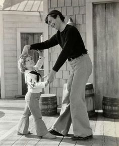 Buddy Ebsen & Shirley Temple