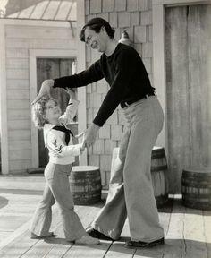 Buddy Ebsen & Shirley Temple