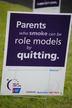 be a quitter!!